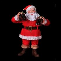 1995 Refreshing Gift - Coca-Cola Santa Claus - QX4067 - SDB