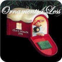 1991 Chris Mouse #7 - QLX7207 - NEAR MINT BOX