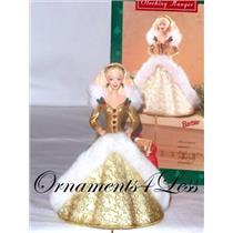 1995 Holiday Barbie Christmas Stocking Hanger -  XSH3119 - DB