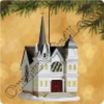 Hallmark Series Ornament 2002 Candlelight Services #5 Country Church QLX7653-SDB