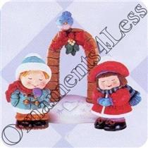 1996 Bashful Mistletoe - Set of 3 Merry Miniatures