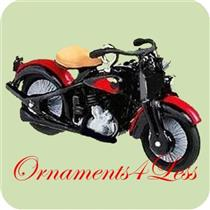 2004 Miniature Harley Davidson #6 - 1933 Flathead Model VLD - QXM5191