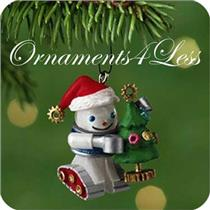 2001 Gearing Up For Christmas - Miniature Ornament - QXM5352