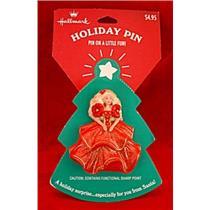 1995  Holiday Barbie Lapel Pin - XLP3547