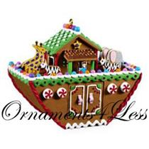 2009 Noahs Ark - Gingerbread Ark - QXG6025 - SDB