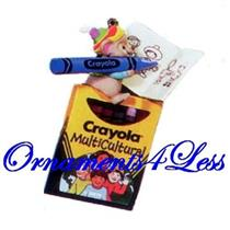 1995 Colorful World - Crayola Crayons - QX5519 - SDB