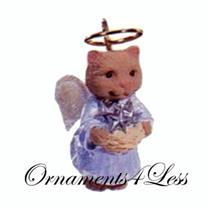 1993 Natures Angels #4 - Miniature Ornament - QXM5122