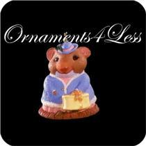 1996 Hattie Chapeau - Miniature Ornament - QXM4251