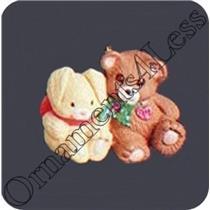 1994 Friends Need Hugs - Miniature - QXM4016 - SLIGHTLY DAMAGED BOX