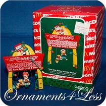 Enesco 1990 Over One Million Holiday Wishes - McDonalds - SDB WITH A STICKER ON THE BOX