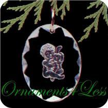 1989 Bunny Hug - Miniature Ornament - QXM5775 - DB