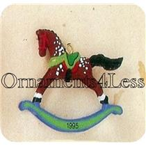 1995 Rocking Horse #8 - Miniature Ornament