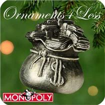 2000 Monopoly Game Advance To Go #1 - Sack of Money - QXM5341 - SDB