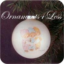 1975 Betsey Clark #3 - Tree Trimmer Collection - Glass Ball - QX1331 - DB
