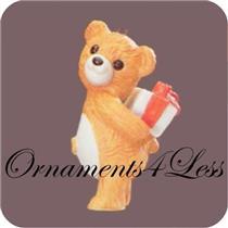 1986 Porcelain Bear #4 - Cinnamon Bear - QX4056