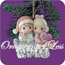 2003 Our First Christmas Together Ornament - 112841