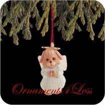 1991 Natures Angels #2 - Miniature Ornament - QXM5657 - DB