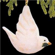 1990 Christmas Dove - Miniature Ornament - QXM5636 - DB