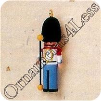 1995 Miniature Clothespin Soldier #1 - British - Worn Box