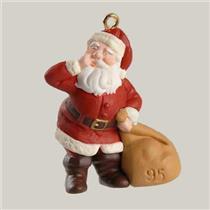 1995 The Night Before Christmas #4 - QXM4807 - SDB WITH NO TAG