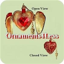 2004 Charming Hearts #2 - Miniature Photo Holder - QXM5194 - NEAR MINT BOX