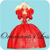 1993 Holiday Barbie #1 - NEAR MINT BOX