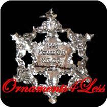 1998 Winter Wonderland - 25th Event Piece - QXC4543 - Signed by Artist - Rare