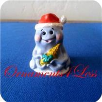 1992 Octopus in Santa Hat - Merry Miniature