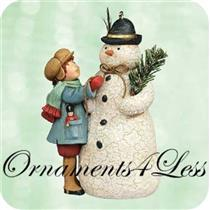 2003 A Very Merry Snowman - A Visit From Santa - QP1417
