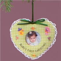 1986 Baby's First Christmas - Photo Holder - QX3792 - SDB