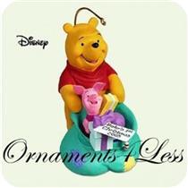 2005 Babys First Christmas - Winnie the Pooh - QXG4615 - SDB