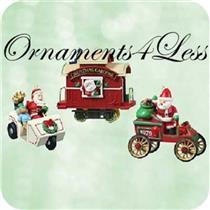 2003 Here Comes Santa - Set of 3 Miniature Ornaments - QXM4929