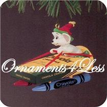 1990 Crayola #2 - Bright Moving Colors - QX4586 - SDB