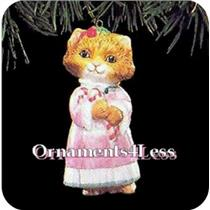 1991 Christmas Kitty #3 -  QX4377 - SDB