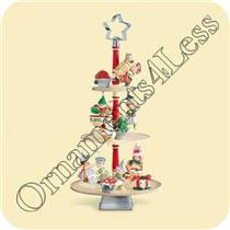 2006 Merry Bakers Ornament Display Stand - QP1773 - SDB