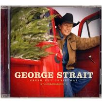 George Strait - Fresh Cut Christmas CD - XPR3943 - NEW BUT CD CASE IS CRACKED
