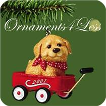 2001 Ready for a Ride - Miniature Ornament - QXM5302 - NR-MINT