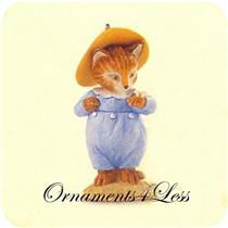 1999 Beatrix Potter #4 - Tom Kitten - QEO8329 - NO TAG