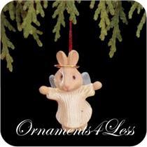 1990 Natures Angels #1 - Miniature Ornament - QXM5733 - DB