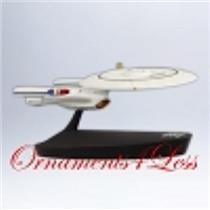 Hallmark Magic Ornament 2012 USS Enterprise NCC-1701-D - Star Trek #QXI2051-SDB