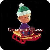 1995 Peanuts Gang #3 - Linus - QX5059 - NEAR MINT BOX