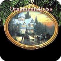 1997 Thomas Kinkade #1 - Victorian Christmas - QXI6135 - SDB