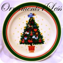 1988 Country Christmas Plate #1