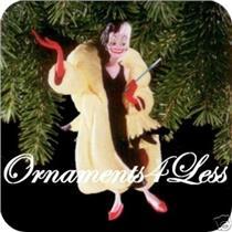 1998 Unforgettable Villians #1 - Cruella De Vil - Disney's 101 Dalmatians