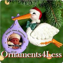 2000 Babys First Christmas - Photo Holder - QX8031