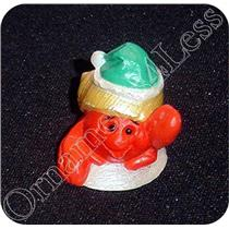 1992 Crab in Green Hat - Merry Miniature