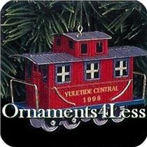 1998 Yuletide Central #5 - The Caboose - QX6373