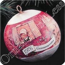 1976 Bicentennial 76 Commemorative - Satin Ball - SDB