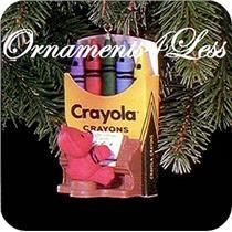 1991 Crayola #3 - Bright Vibrant Carols - QX4219 - DB