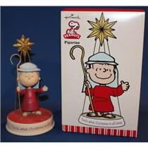 2010 That's What Christmas Is all About - Peanuts Gang Linus Figurine - XOX5007